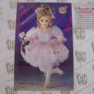 NIB Heritage Signature Collection Doll Ballerina Denise New In Box