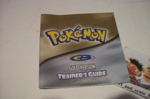 Pokemon GOLD Version INSTRUCTION BOOKLET ONLY! GameBoy Games Game Boy - FREE SHIPPING