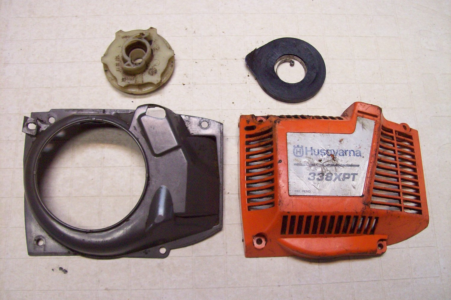 Husqvarna 338XPT ChainSaw 338 XPT Chain Saw Recoil Starter Parts Husky
