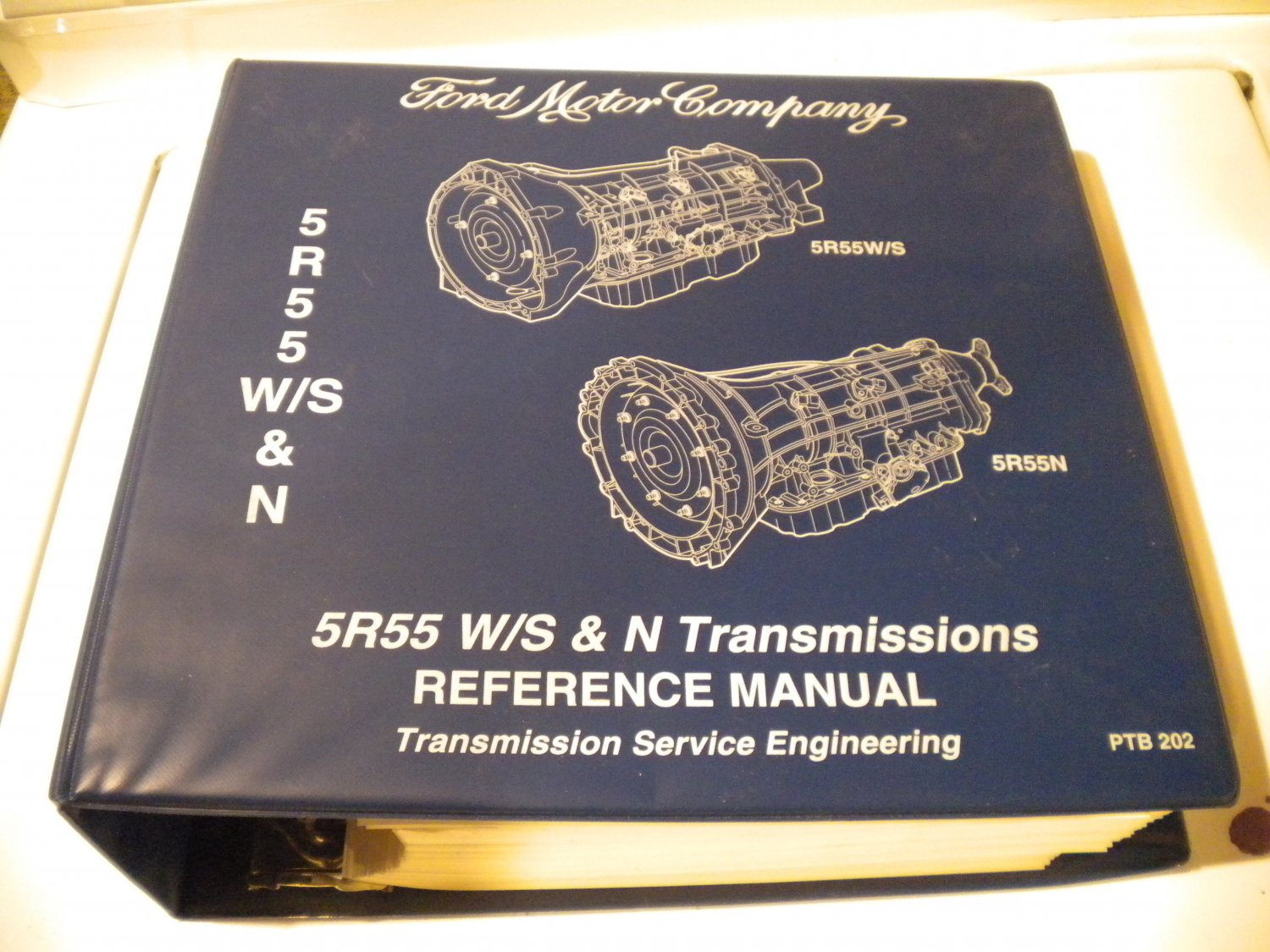 Ford 5R55W 5R55s 5R55N Transmission Service Manual Transmissions Service Engineering Repair