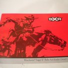 Winchester Super X rifle autoloader Owners Manual Owner's Guide