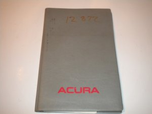 1990 Acura Legend Owner Manual Operators Guide Owner's