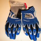Fox Pawtector Gloves motocross cycling size small motorcycle dirt bike