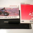 Honda TRX300EX Sportrax 300ex Owner's Manual tips practice Owners guide