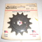 HONDA XL350 XR350 Front Sprocket Specialists 558 14 tooth 14t Countershaft XR XL 350