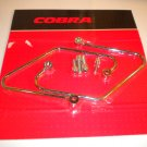 Motorcycle Saddlebag Supports Cobra Cruiser chrome