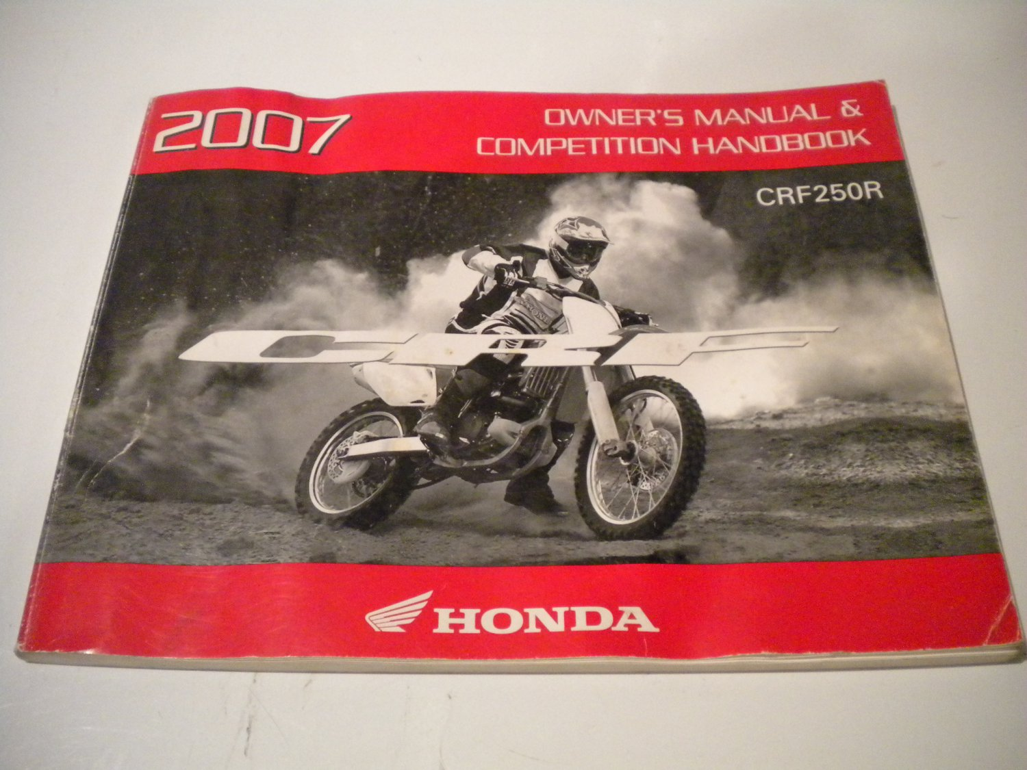 honda crf250r 2007 owners manual owner s guide crf 250 crf250 r 250r rh ecrater com 2007 honda crf250r repair manual 2007 Crf250r Horsepower