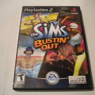 The Sims: Bustin' Out  (Sony PlayStation 2, 2003) PS2 Used Video Games Game