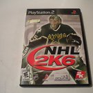 NHL 2K6  (Sony PlayStation 2, 2005) PS2 Used Video Games Game