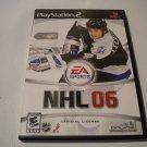 NHL 06 (Sony PlayStation 2, 2005) PS2 NHL06