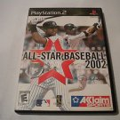 All-Star Baseball 2002  (Sony PlayStation 2, 2001) PS2 Used Video Games Game