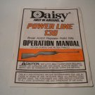 Daisy Powerline 130 .177 Airgun Operation Manual; Original