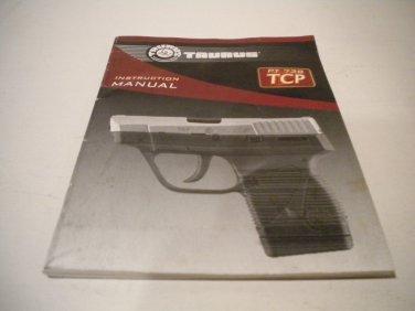 Taurus PT 738 TCP .380 Semi Automatic Instruction Manual; Original
