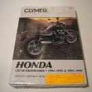 CLYMER MANUAL CB750 NIGHTHAWK 1991-1993 AND 1995-1999 P/N M436