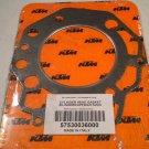 KTM 57530036000 cylinder head gasket