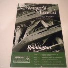 Remington 1100 and 1187 & 1187 Super Mag Owners Manual