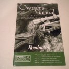 Remington 700, Seven,710, and 673 Bolt Action Rifle Owners Manual