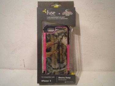 Fuse Mossy Oak iphone 5 & 5s Rugged Case - Mossy Oak Break-Up Infinity Pink -