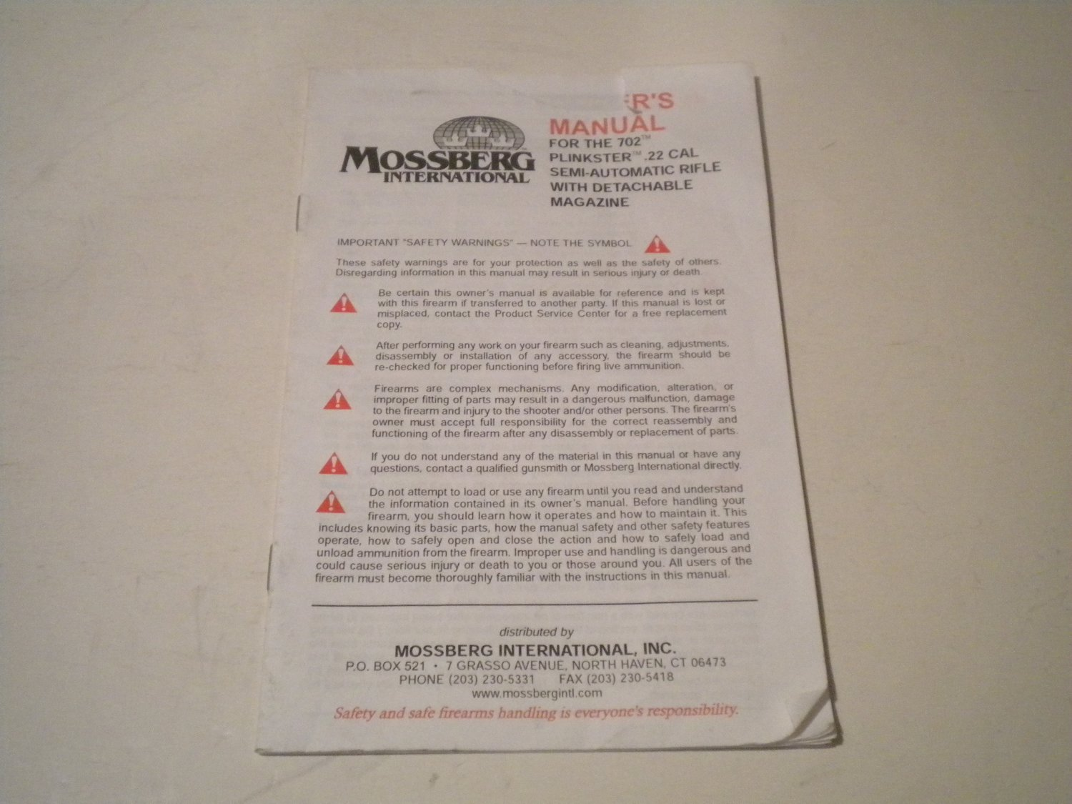 Mossberg 702 Plinkster Diagram Electrical Wiring Diagrams 715t Exploded Owners Manual For Model Semi Auto 22 Rifle Brushed