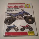 Haynes Yamaha Banshee, Warrior and Raptor 350 ATV Service and Repair Manual (Hardcover)