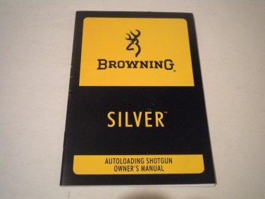 Browning Silver Shotgun Owner's Manual, NICE!