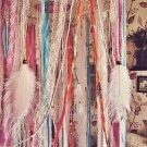 Bohemian Dreamcatcher Bed Canopy - Boho Nursery Decor - Hanging Crib Crown - Tropical Decor
