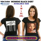 JANET JACKSON STATE OF THE WORLD TOUR DATES 2017 BLACK SHIRT S-XL MONGSO