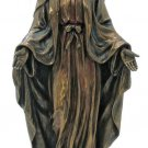 """Lady Of Grace Statue, Hand-Painted, Cold-Cast Bronze, 8"""""""