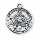 Sterling Silver Our Lady Of Loreto Medal