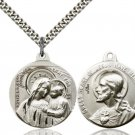 SS Our Lady of Good Counsel/Sacred Heart of Jesus Pendant 37-18/17SS/24S