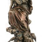 Madonna And Child With Angels, Cold-Cast Bronze, 12.75""