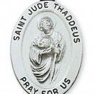Sterling Silver Saint Jude Medal 20 inch Chain & Box