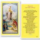 O L of Mercy Laminated Holy Card (25 per Pack)
