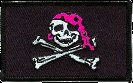 Pirate Girl Patch