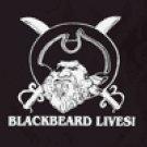 Blackbeard Lives Flag
