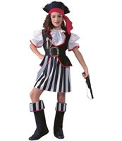 Pirate Girl Size Medium Size 8-10