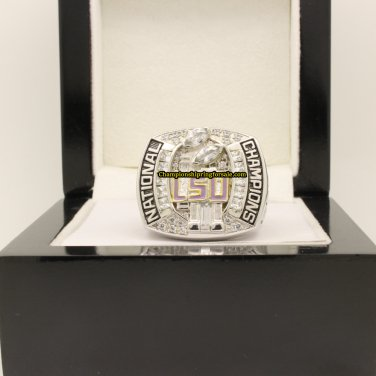 2007 LSU Tigers NCAA Football National Championship Ring