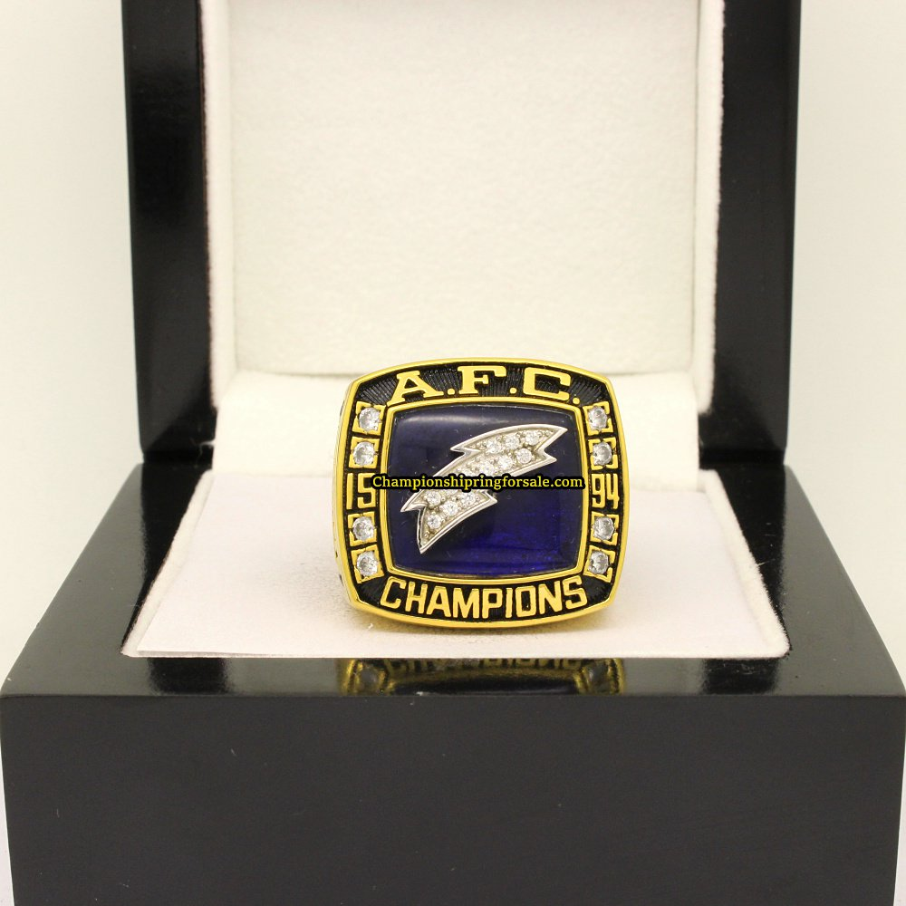 San Diego Chargers Championships: 1994 San Diego Chargers AFC Football Championship Ring