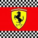 The Ferrari flag (for fans of formula 1) - 140x210 cm