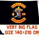 BIG flag international motorcycle club Bandidos 140х210 cm free shipping NEW !!!