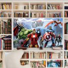 # 15A 3D Decal Wall Poster Marvel Avengers Assemble Poster Decal Wall Sticker