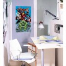 # 15B 3D Decal Wall Poster Marvel Avengers Assemble Poster Decal Wall Sticker