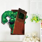 # 16A The Hulk Super Hero 3D Decal Wall Poster Decal Wall Sticker