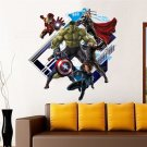 Captain America #17F 3D Decal Wall Poster Decal Wall Sticker