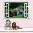 Minecraft Wall Stickers For Kids Rooms #23