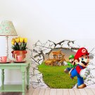 Super Mario #33 Wall Stickers For Kids Rooms