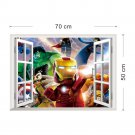 Lego Superhero #55 Wall Stickers For Kids Rooms