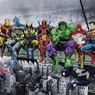 Marvel DC Superhero #70D High Grade Canvas