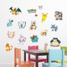 Pocket Monster Pokemon #92 wall stickers room wall art decorative