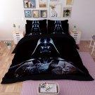 4 pcs QUEEN Size 3D Star Wars  #14 Bedding Set Duvet Cover Flat Sheet